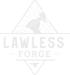 Seattle Blacksmith Lawless Forge Logo