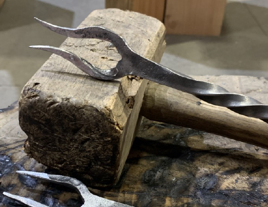 BBQ Fork Seattle Blacksmithing Classes